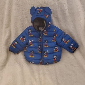 BABY GAP MICKEY MOUSE PUFFER JACKET